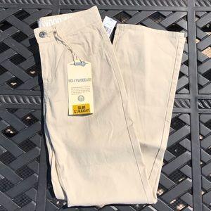 🔥NWT Hollywood Khaki Pants